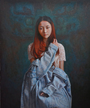 """Relic Series- The Girl with Jeans Jacket"""