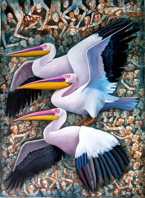"""Song of Pelicans"""