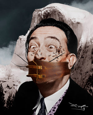 """Portrait of Salvador Dali"""