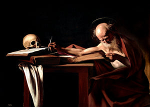 """Saint Jerome Writing"""