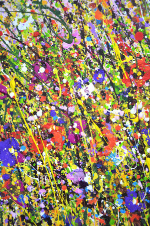 """Summer Flower. Field"""