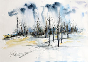 """Trees in Wintertime"""