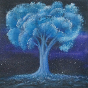 """Tree Under Full Moonlight"""