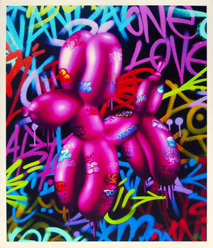 """Vandal Balloon Dog"""