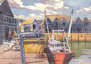 """Busy Harbour, Whitstable, Kent."""