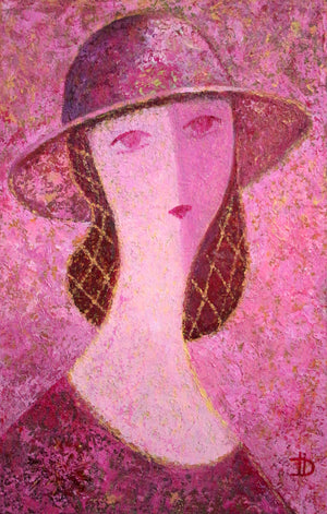 """Woman in the Hat"""