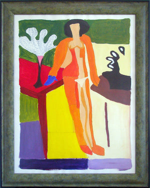 """Zulma (Homage to Matisse)"""