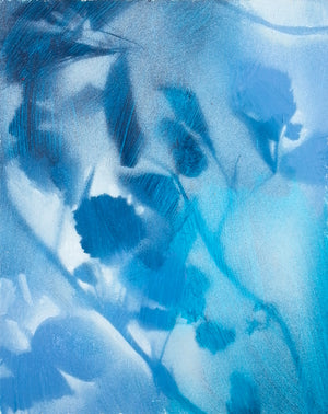 """Foliages in Blue"""
