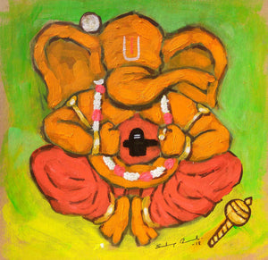 """Enlightened Ganesha #14"""