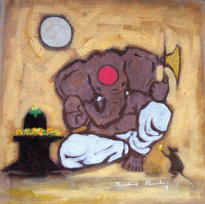 """Enlightened Ganesha #15"""