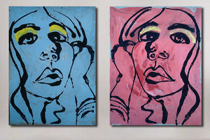 """We Do the Thinking Instead of You"" (Diptych)"