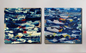"""Under the Surface"" (Diptych)"