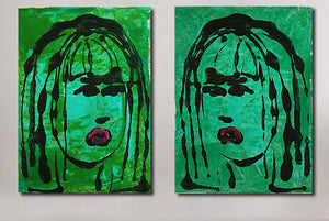 """Water Girls"" (Diptych)"