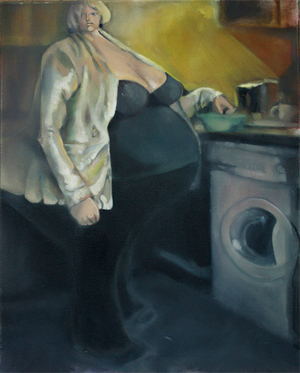 """Woman and Washing Machine"""