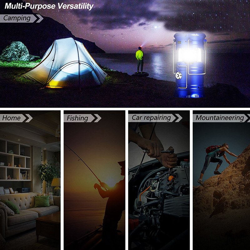 Versatile LED Camp Light
