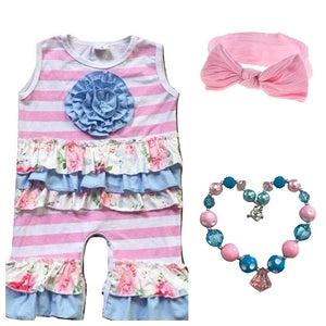 Bubble Gum INFANT Ruffle Romper
