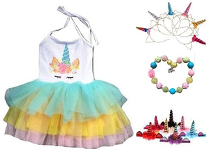 Deluxe Unicorn Tutu Dress
