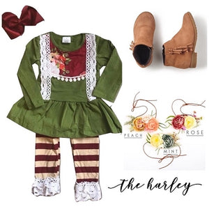 The Harley Ruffle Boutique Outfit