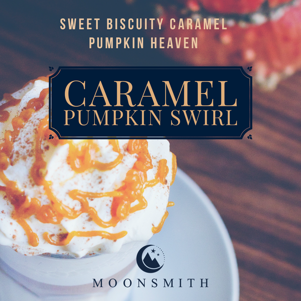 Caramel Pumpkin Swirl Wax Melt Snap Bar