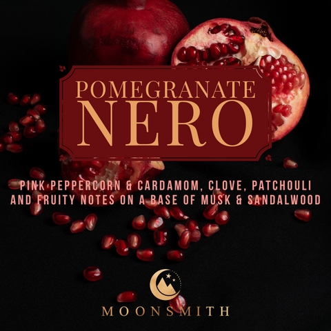Pomegranate Nero Wax Melt Snap Bar