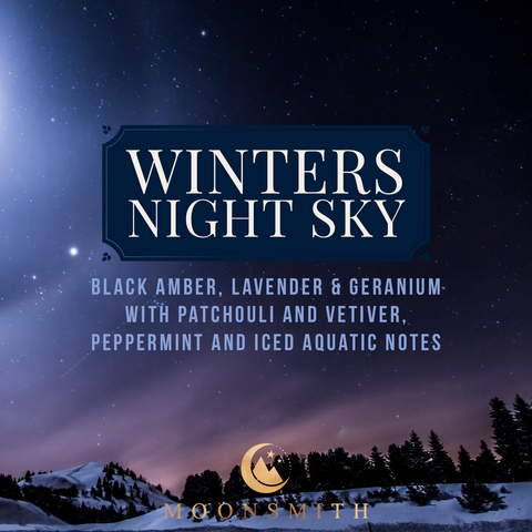 Winters Night Sky Wax Melt Snap Bar