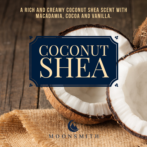 Coconut Shea Wax Melt Snap Bar