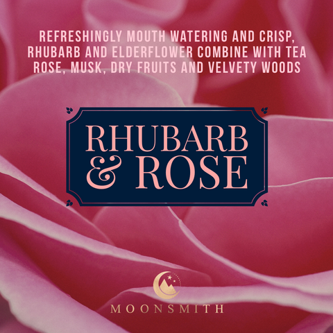 Rhubarb & Rose Wax Melt Snap Bar