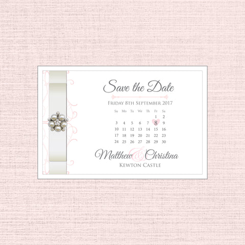 Grace - Save the Date Postcard C6