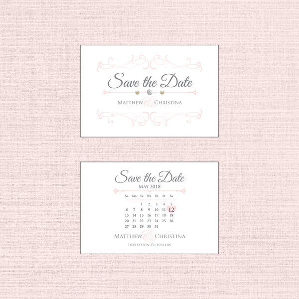 Grace - Save the Date Mini C7