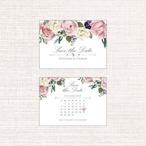 Charming - Save the Date Mini C7