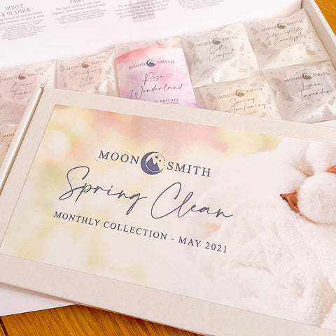 MAY - MoonSmith Monthly Sample Collection - Spring Clean