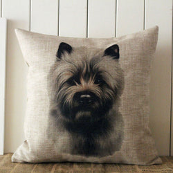 Dog Pillow Cases - Norwich Terrier Breed Pillow Case