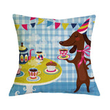 Dog Pillow Cases - Dachshund Funny Pillow Cases - 11 Designs