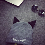 Cat Hats - Winter Evil Cat Beanie - Huge Range of 14 Designs and Colors