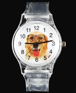 Dog Watches - Pug / Beagle / Saint Bernard / Papillon / Golden Retriever/ Terrier Bull Dog / Kids Quartz Watch