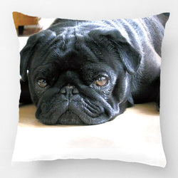 Dog Pillow Cases - Pug Dog Pillowcase, Cute Puppy - Huge Range of Designs & Sizes