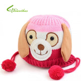 Dog Hats - Dog Shaped Knitted Baby Cap -  5 Colors - Ideal for Winter