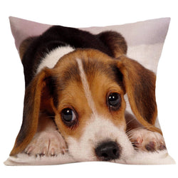 Dog Pillow Cases - Beautiful 3D Designs Cute Puppy Pillow Case