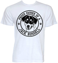 Dog T-Shirts - Jack Russell Owner's T- Shirt - 6 Sizes