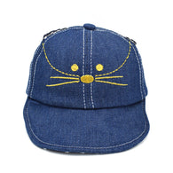 Cat Hat - Baby Cat Hats for Boys/Girls, Cotton Soft Cap - suit child 12-24 months - 3Colors
