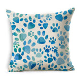 Dog Pillow Cases - Dog Pattern, Zoom Style Linen/Cotton Pillow Covers - 25 Designs
