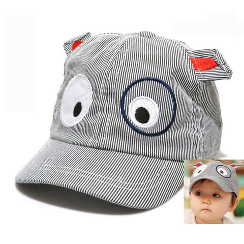 Dog Hats - Cartoon Dog Infant Baseball Caps - 3 Colors