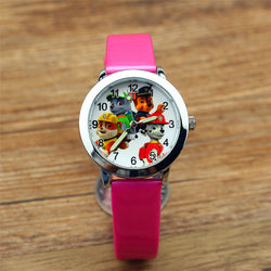 Dog Watches - Paw Patrol Cartoon Quartz Watch for Kids - 11 Colors