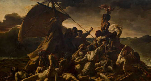 August 25, 1819: The Raft of the Medusa