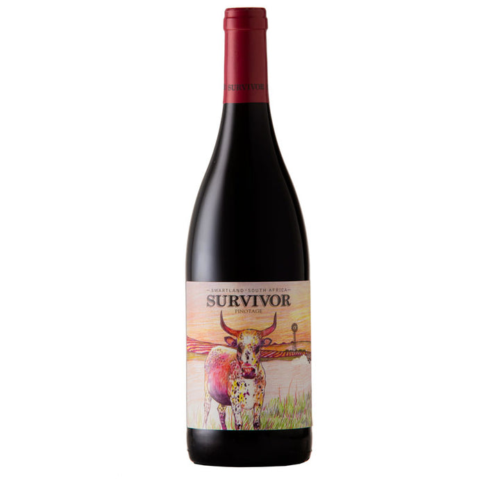 Survivor Pinotage 2018  (case of 6)
