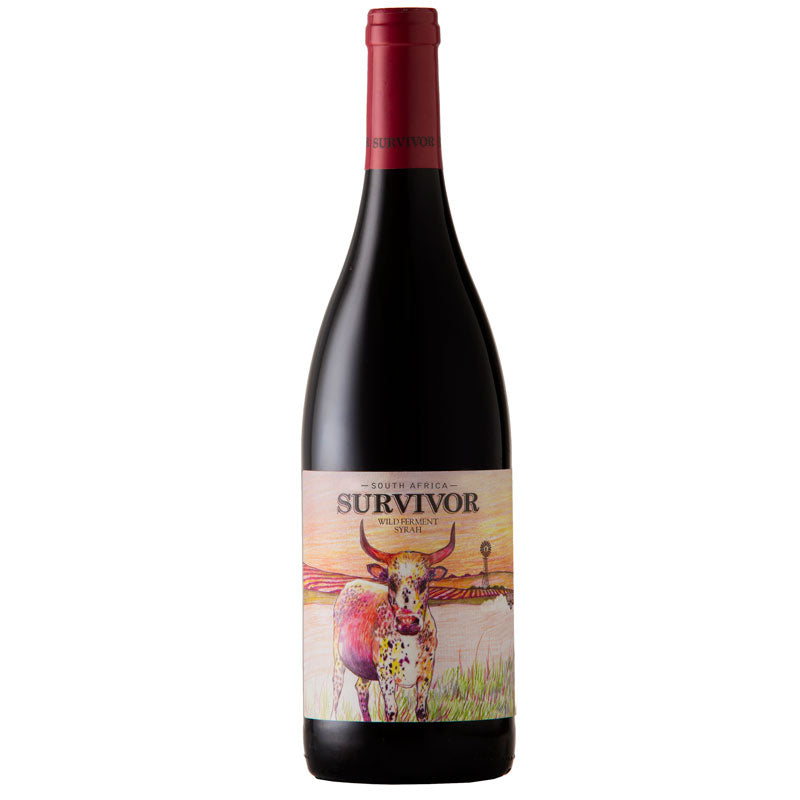 Survivor Wild Ferment Syrah 2018 (case of 6)
