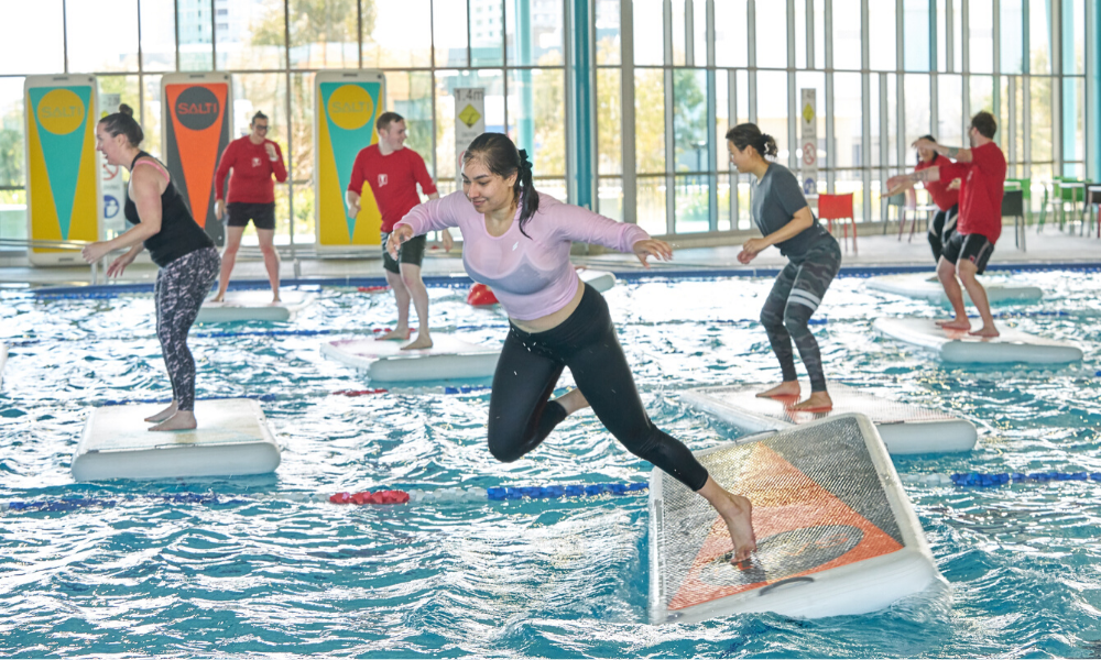 Two new Canberra venues getting Salti, encouraging more people to get active!