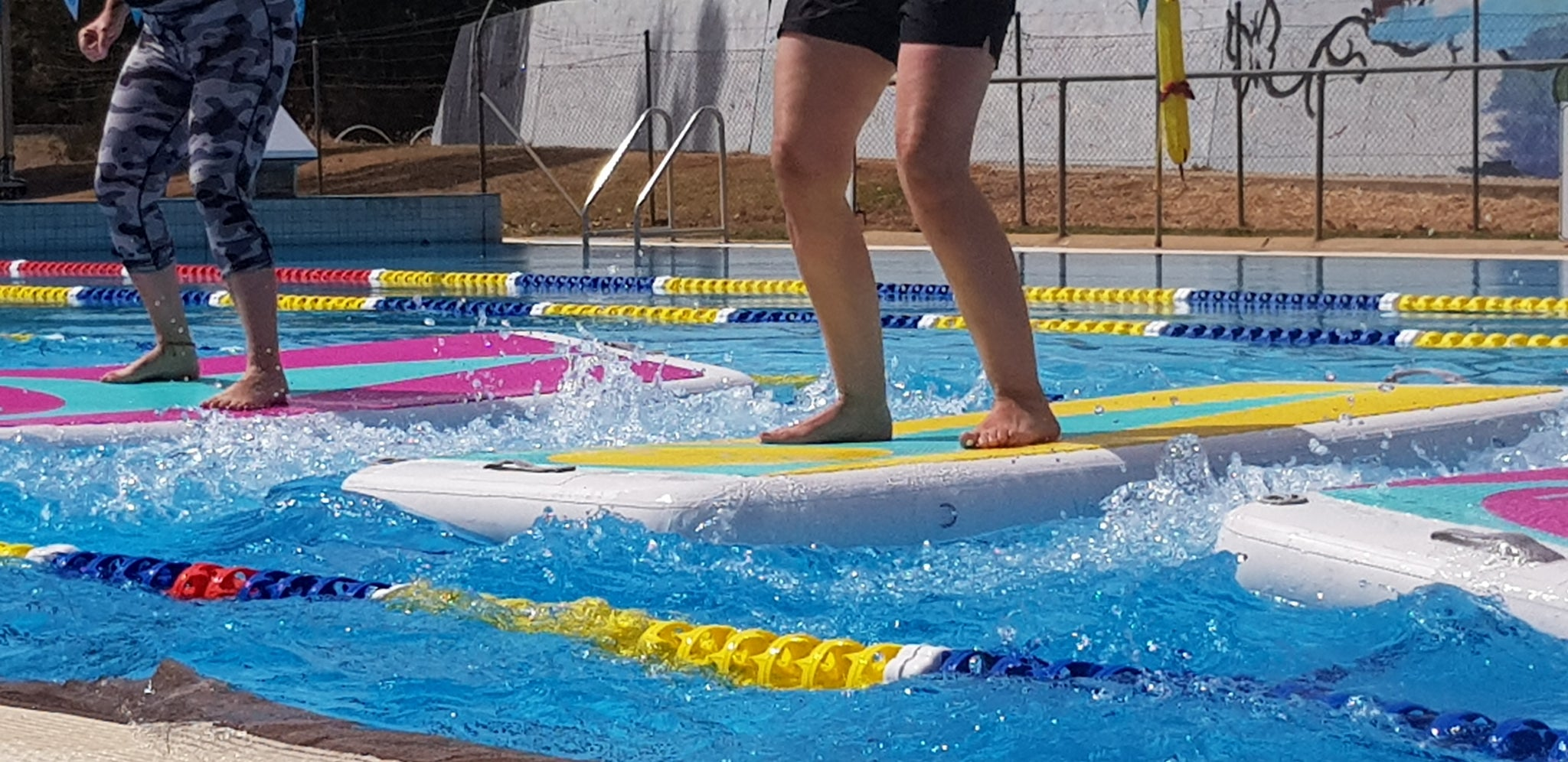 Molong Pool salti float group fitness classes