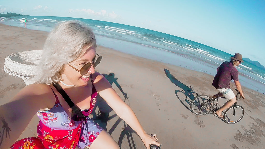 Salti tour - bike riding on Mission beach