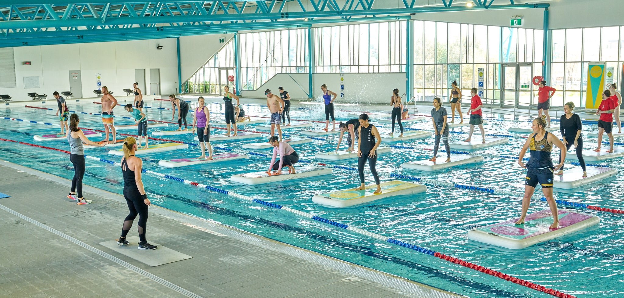 Salti Active launch at Gungahlin Leisure Centre